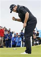 全英ゴルフで優勝のローリー「ものすごく緊張した」