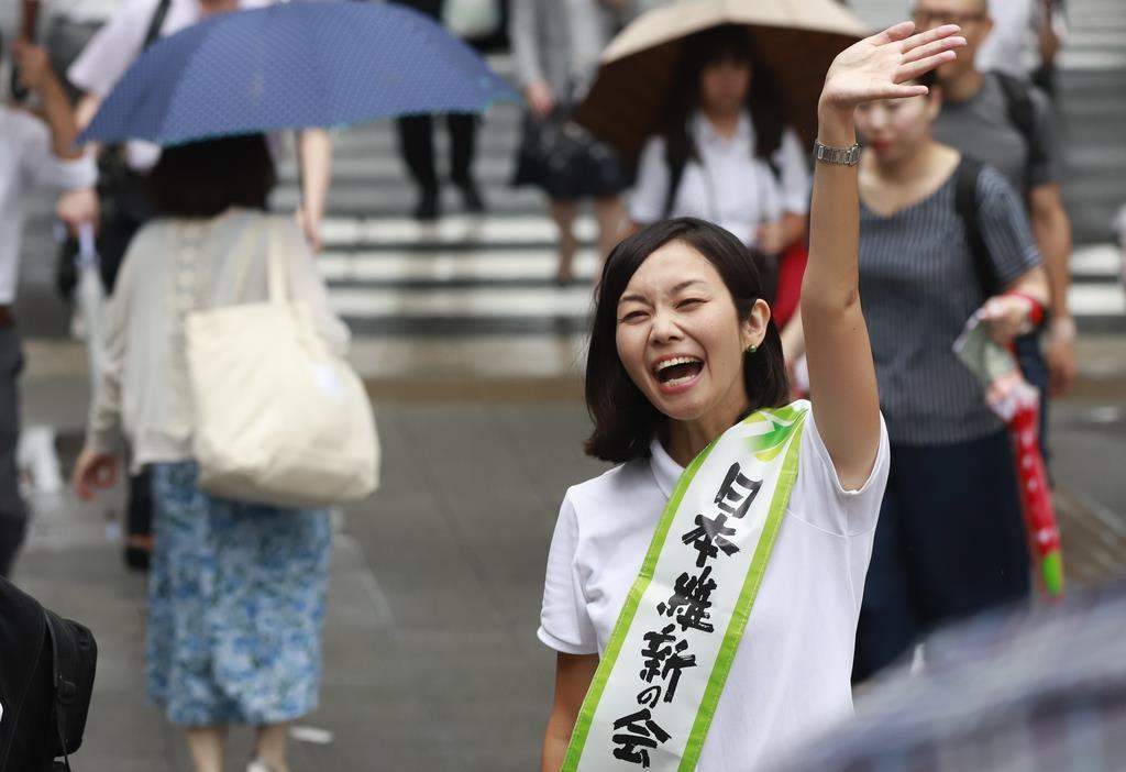 維新・梅村氏「身を切る改革進める」 - 産経ニュース