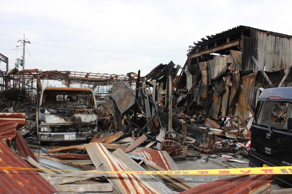 モノタロウ 爆発 事故 モノタロウを家宅捜索 高槻の倉庫火災、業過致死容疑で: