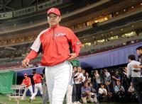広島、緒方監督を厳重注意 プロ野球、平手でたたく
