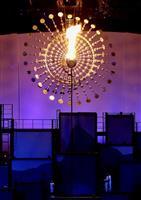 東京五輪の聖火台「太陽」イメージ 水素燃料活用も