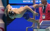【プールサイド】東京五輪あと1年 メーカーも世界水泳でアピール