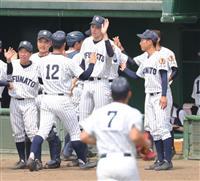 花巻東が五回で5-1とリード 大船渡の佐々木朗希はベンチ 高校野球岩手大会決勝