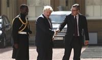 ジョンソン氏が新首相に就任「10月に必ずEU離脱。国を良い方向に進める」