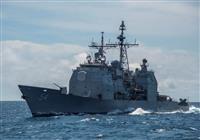 米巡洋艦が台湾海峡を通過 「台湾独立には武力行使」と警告の中国を牽制