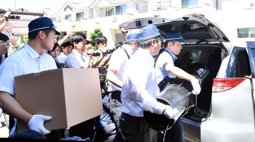京都府警がさいたま市の青葉容疑者宅を家宅捜索 京アニ放火 - 産経ニュース
