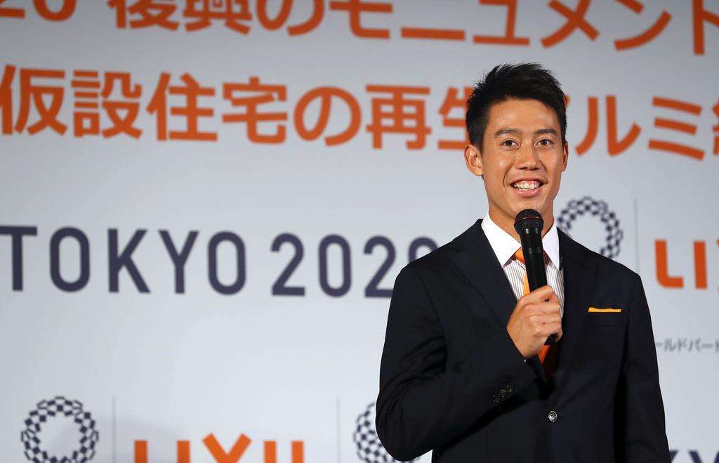 【スポーツ異聞】29歳・錦織圭「未来を変える」と記した五輪への思い