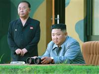 北メディア、正恩氏のミサイル発射視察を報道 韓国に「厳重な警告」