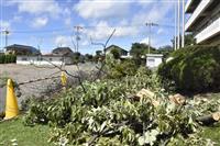 栃木の突風被害90件超 南北2キロ、帯状に広がる