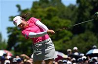 19歳の稲見萌寧が7アンダーで首位 女子ゴルフ第2日