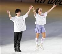 宇野昌磨、ザギトワら豪華競演 大阪でアイスショー