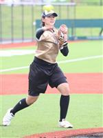 【五輪目指す若きアスリート】(5)ソフト女子の新星、勝股美咲投手 19歳 試合決めるライズボールが金メダルに導く