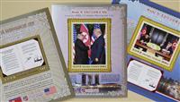 北朝鮮で米朝首脳会談の記念切手