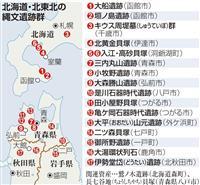 「北海道・北東北の縄文遺跡群」世界遺産推薦へ 文化審が選定、2年後の登録目指す