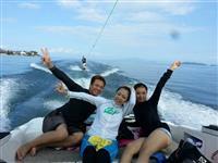 【関西の夏】(6)「海なし県」の湖水浴リゾート 訪日外国人客の波