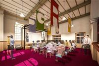 重文に技術者の秘密基地 福岡市赤煉瓦文化館にカフェ、交流推進を支援