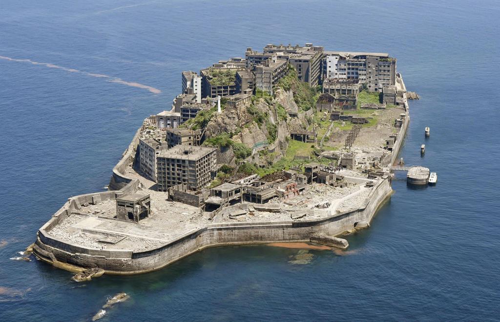 アスベスト 軍艦 島