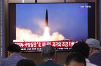 北がまた短距離弾道ミサイル2発発射、米韓演習揺さぶり