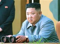 正恩氏が新型ロケット砲試射を視察と北、韓国軍の分析と違い