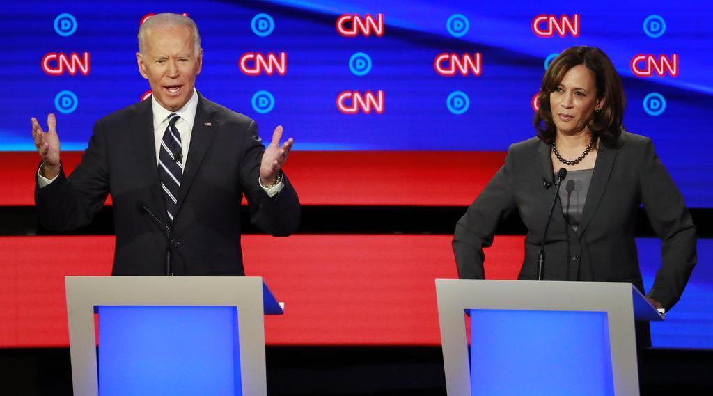 民主党候補者討論会、バイデン氏が一転攻勢 米大統領選