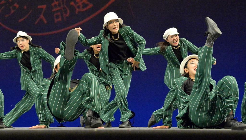 【動画あり】計10チームが全国大会へ ダンス部選手権近畿・中…