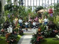 バリの文化感じ取って 淡路・奇跡の星の植物館で服飾展示、伝統舞踊の披露も