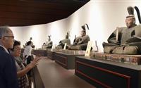 足利歴代将軍が勢ぞろい 九博で特別展 尊氏ら13体の彫像