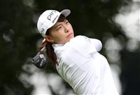 20歳の渋野日向子が1打差2位 全英女子ゴルフ第1日