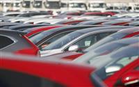 日本車販売7カ月連続減 7月の米市場、0・8%減
