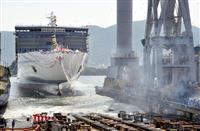 阪九フェリー新船が進水式