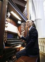 オルガン奏者・池田さん、大聖堂復興願い福岡で演奏会