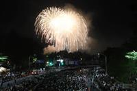 夜空に1万6千発 50回目の「仙台七夕花火祭」