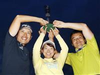 渋野がゴルフの母国でファン魅了 女子ゴルフのメジャー制覇