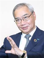 【リーダーの素顔】三井住友海上火災保険 原典之社長(64) 「デジタル化への対応急ぐ」