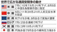 米中貿易摩擦で「通貨戦争」も 円高で日銀に緩和圧力
