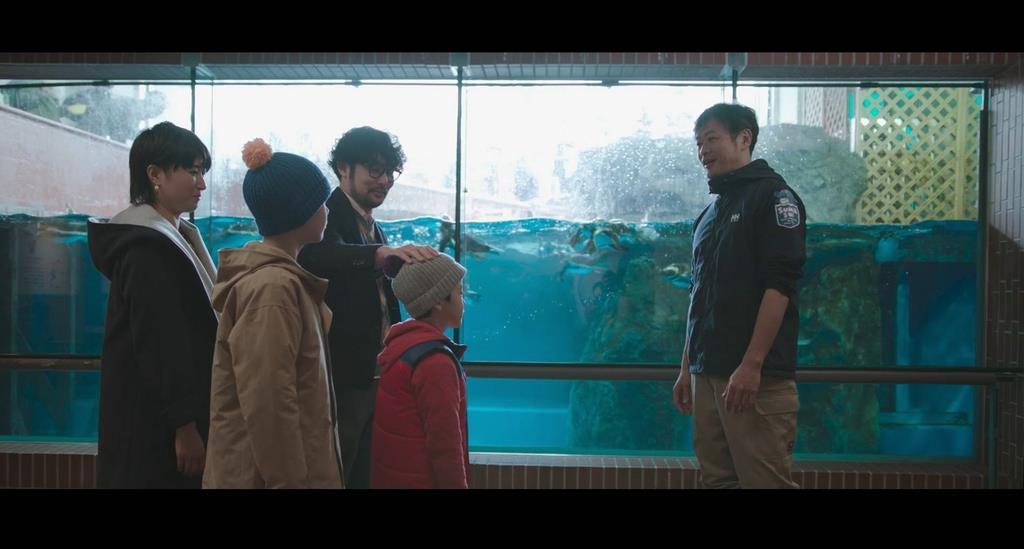 映画「スマスイ」舞台の須磨海浜水族園で試写会