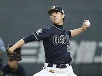 オリックス・田嶋が好投 日ハム・斎藤は2敗目