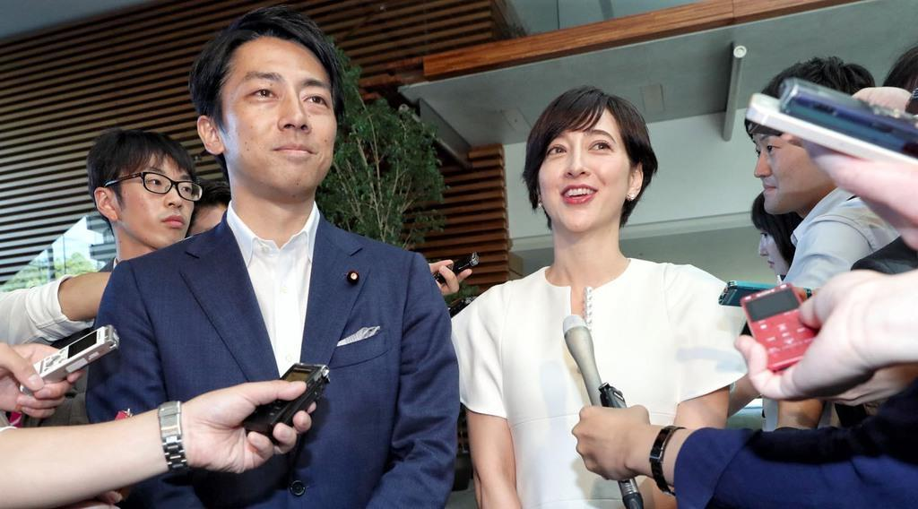 小泉進次郎氏と滝川クリステルさんが結婚 年明けに出産