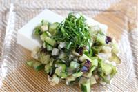 【料理と酒】山形の郷土料理「だし」夏野菜たっぷり