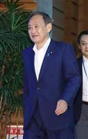 菅官房長官、憲法改正「首相任期ありきでない」
