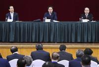 中国政府「香港動乱、座視しない」 深センで5年ぶり会議