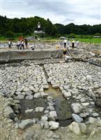 飛鳥京跡苑池から7世紀の天皇祭祀遺構 奈良・明日香村