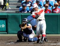 智弁和歌山が米子東に快勝 夏の甲子園第3日第1試合