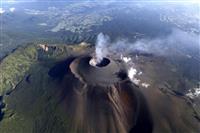 火山灰にマグマ見られず 浅間山、水蒸気噴火か