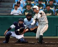 鶴岡東が逆転勝ち 夏の甲子園第4日第4試合