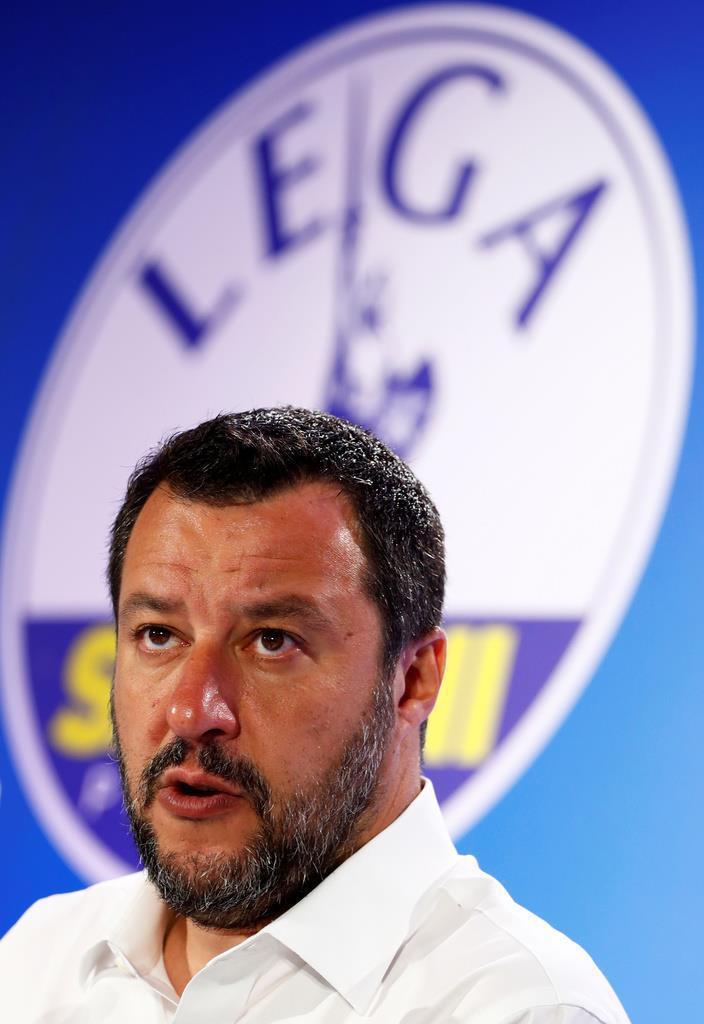 イタリアのサルビーニ副首相兼内相(ロイター)