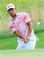 松山は6打差20位に 米男子ゴルフのPO第1戦第2日