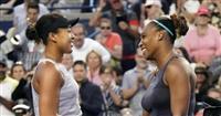 大坂がセリーナに敗れる テニスのロジャーズ杯女子シングルス