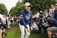 全英女王の渋野が第2Rスタート 凱旋の日本ツアー