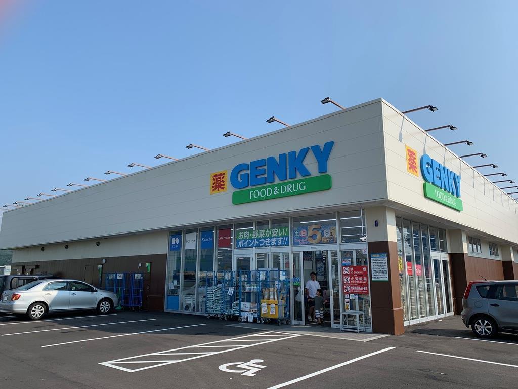 ドラッグストア「ゲンキー」の売り場面積999平方メートルの店舗=8月、福井市